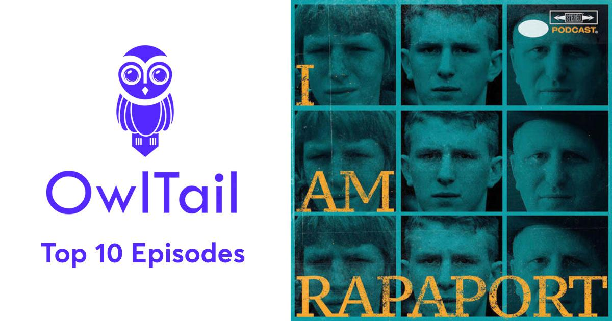 New Best Episodes of I AM RAPAPORT: STEREO PODCAST  hot sale